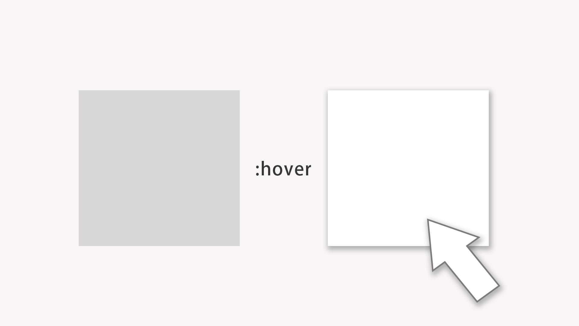 CSSのhoverで子要素・擬似要素を操作するテクニック