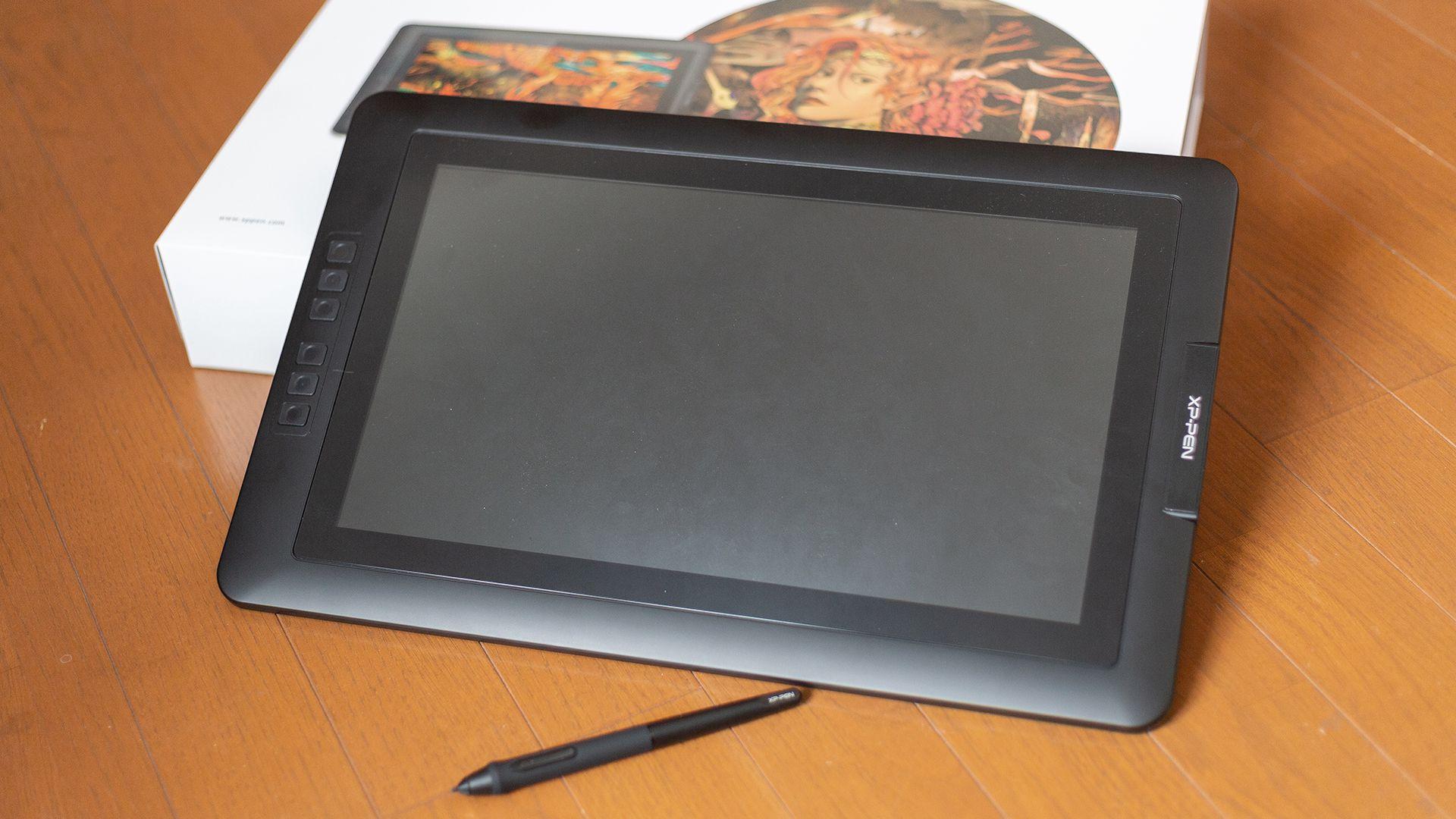 XP-PEN Artist 15.6の購入レポート【買ってよかった理由】