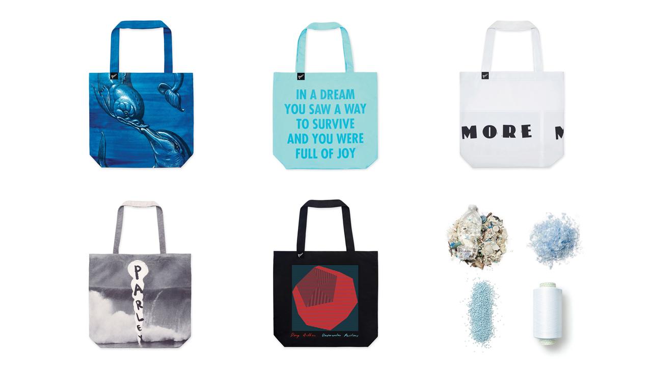 【MoMA Design Store】海洋プラスチックを原料としたトートバッグコレクションを発売